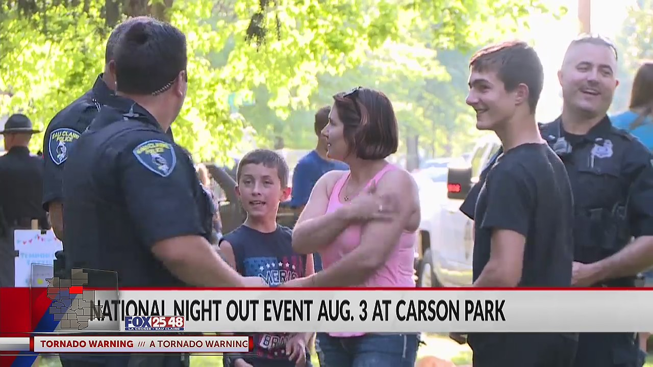 National Night Out events kick off August 3