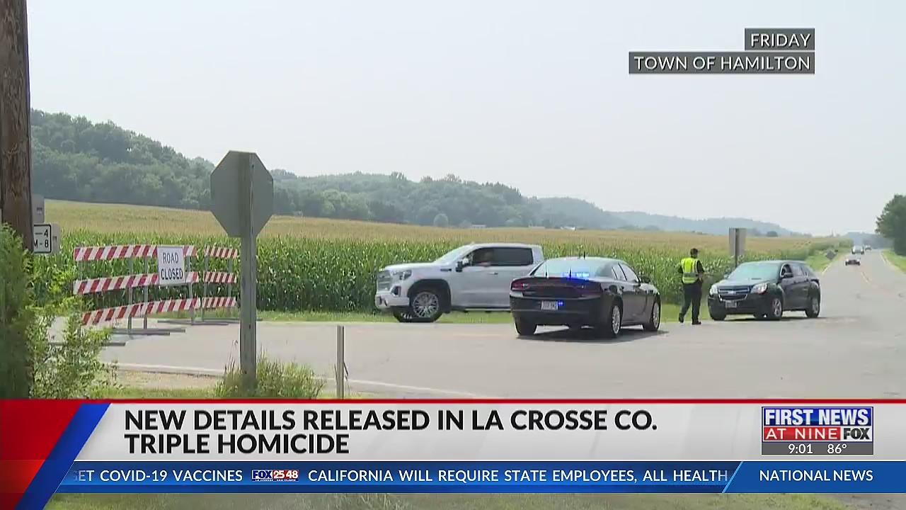New details released in La Crosse County triple homicide