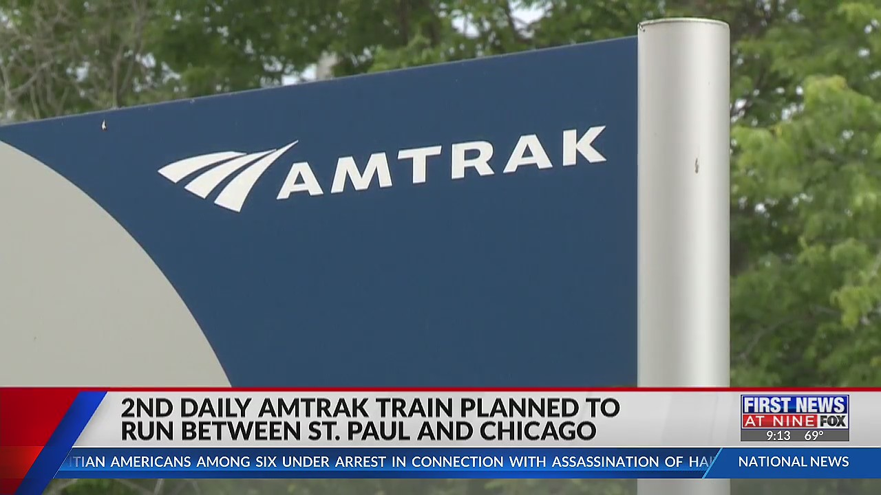 Plans moving forward for 2nd daily Amtrak train from St. Paul to Chicago