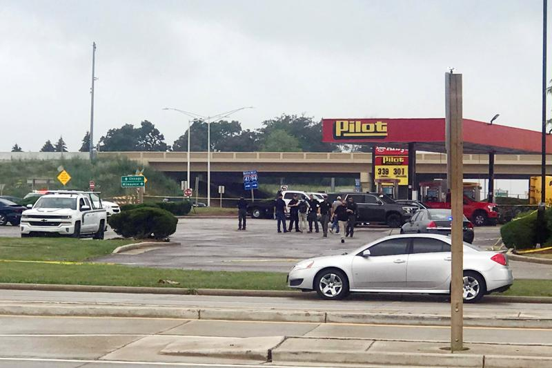 Police respond to apparent shooting at Wisconsin gas station