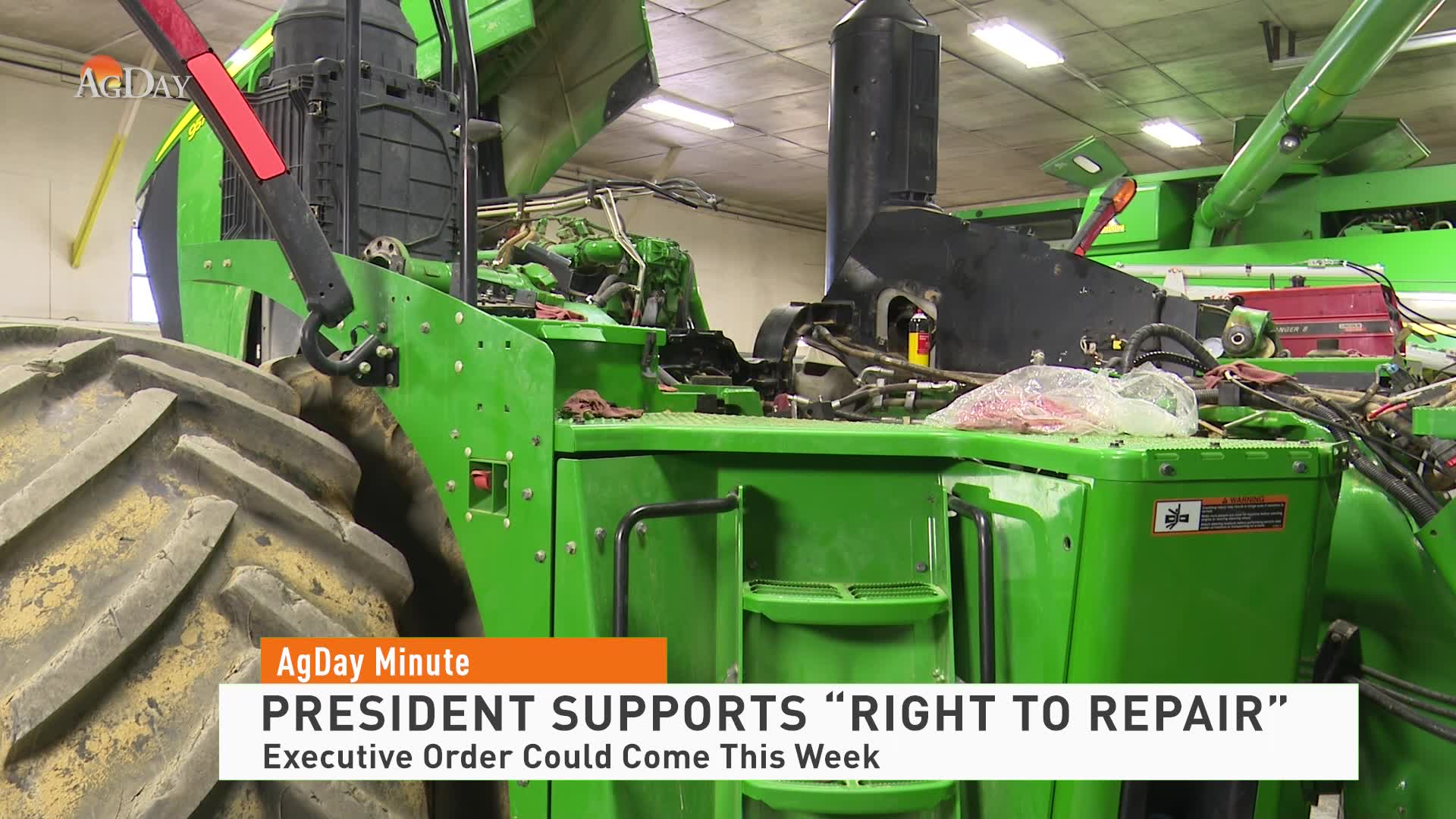 """President supports """"Right to Repair"""""""