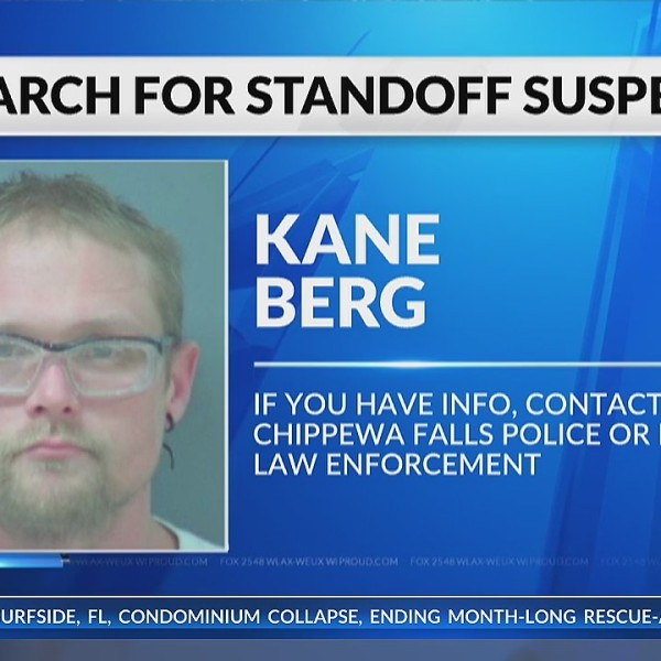 Search continues for Chippewa Falls standoff suspect
