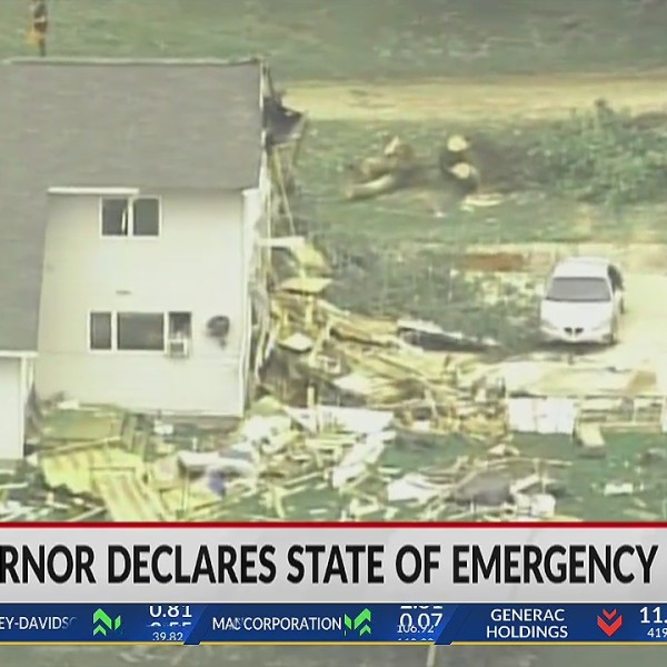 Tony Evers declares state of emergency due to severe weather
