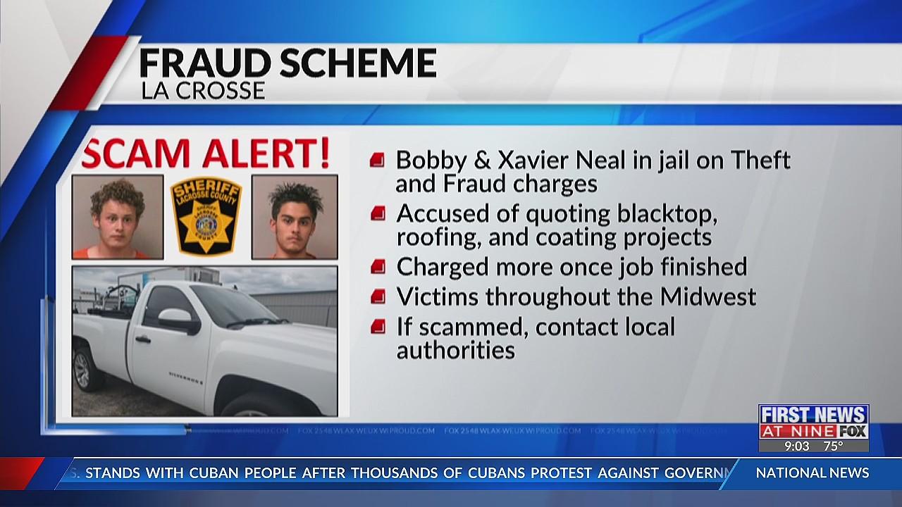 Two men accused of construction services scam, taken into custody in La Crosse