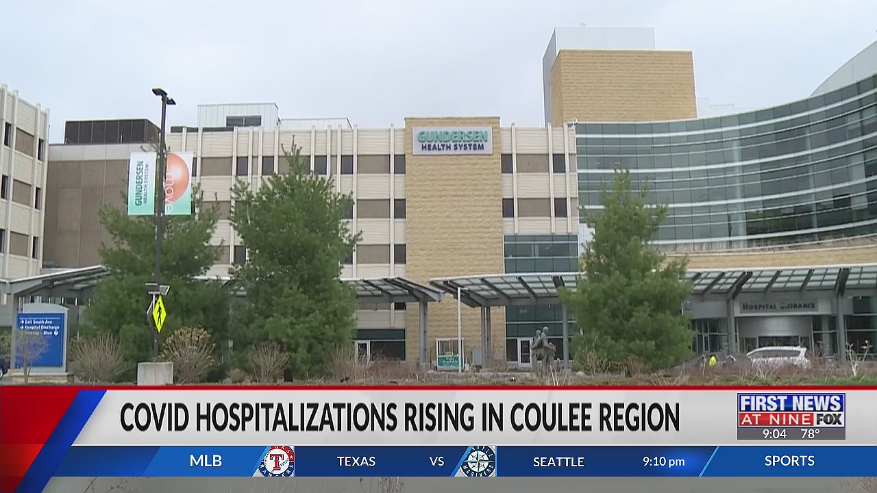 Coulee Region hospitals working to mitigate recent COVID hospitalization increase
