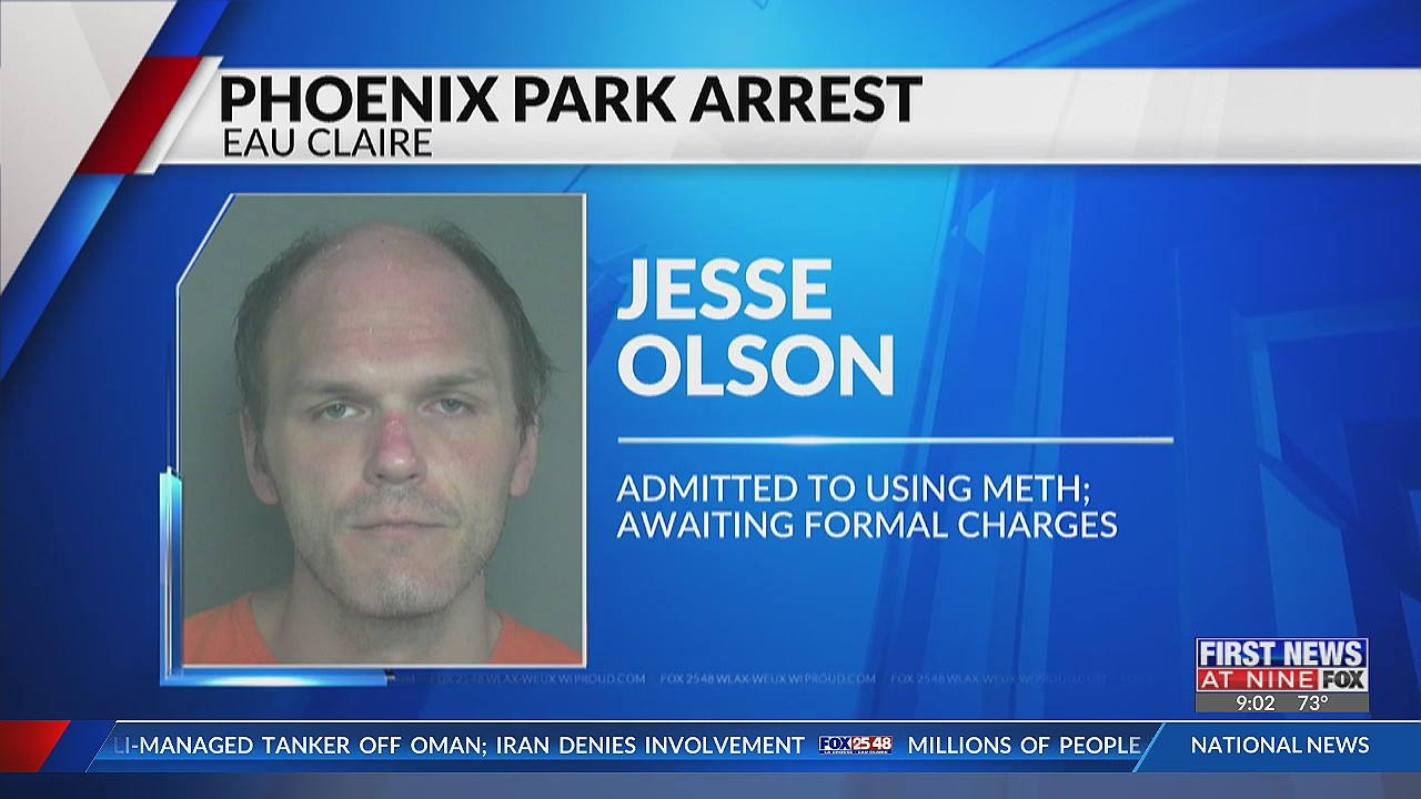 Eau Claire man taken into custody after displaying erratic behavior at Phoenix Park