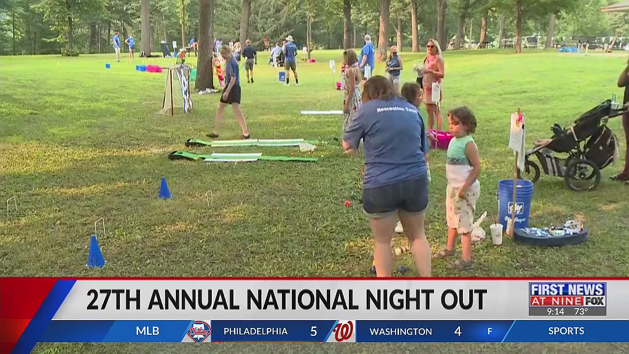 National Night Out returns after canceled year due to pandemic