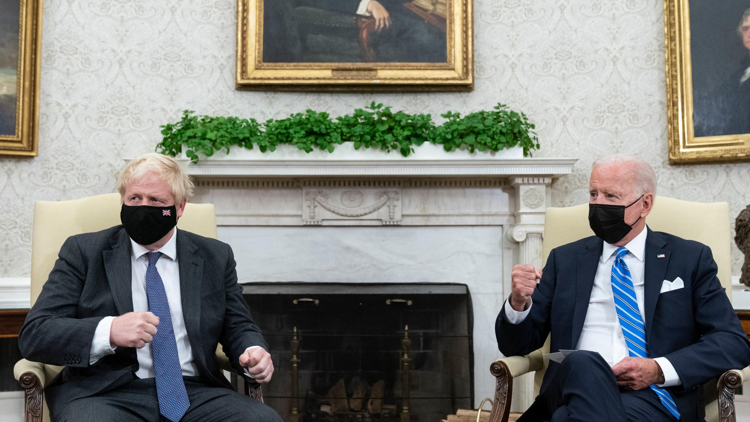 Joe Biden, Boris Johnson