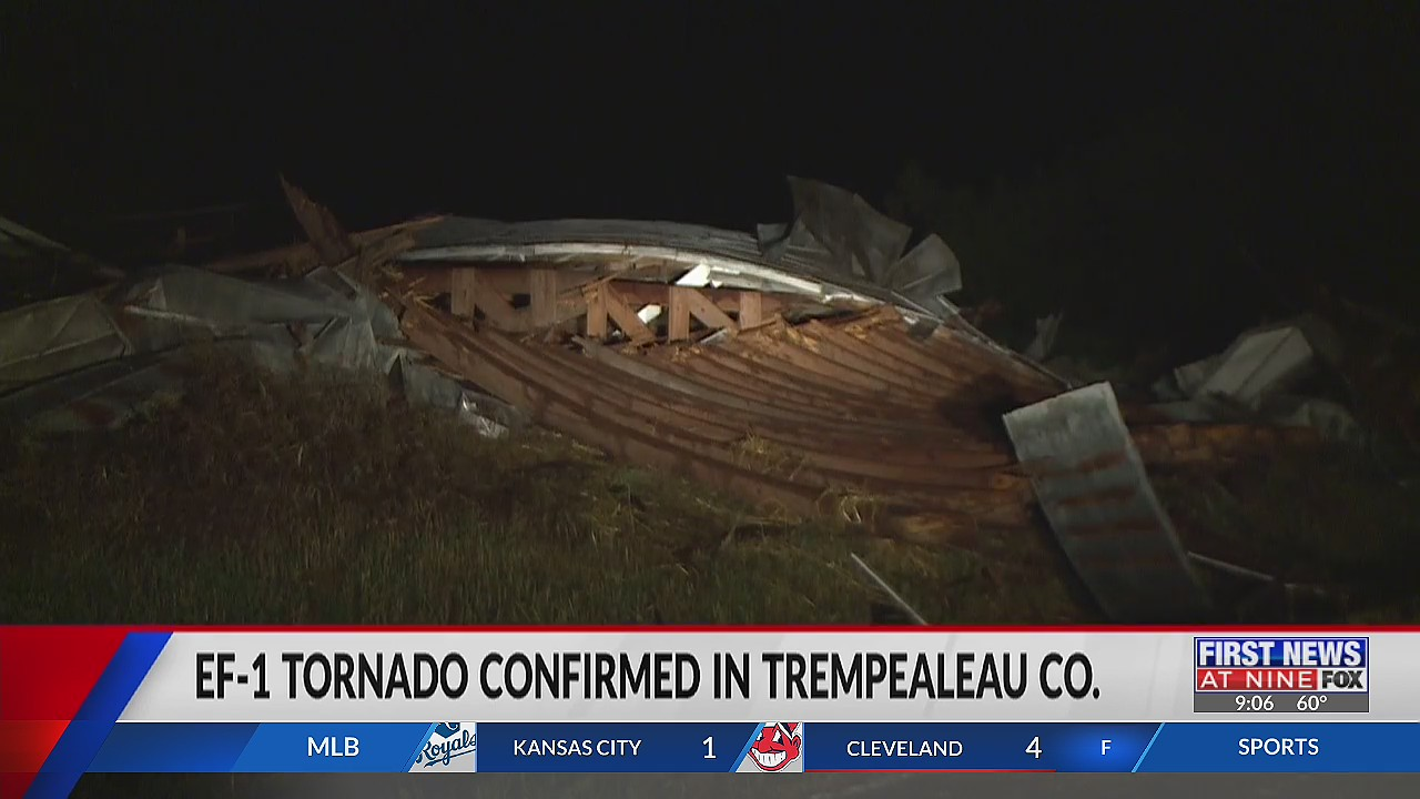 EF-1 tornado confirmed in Trempealeau County