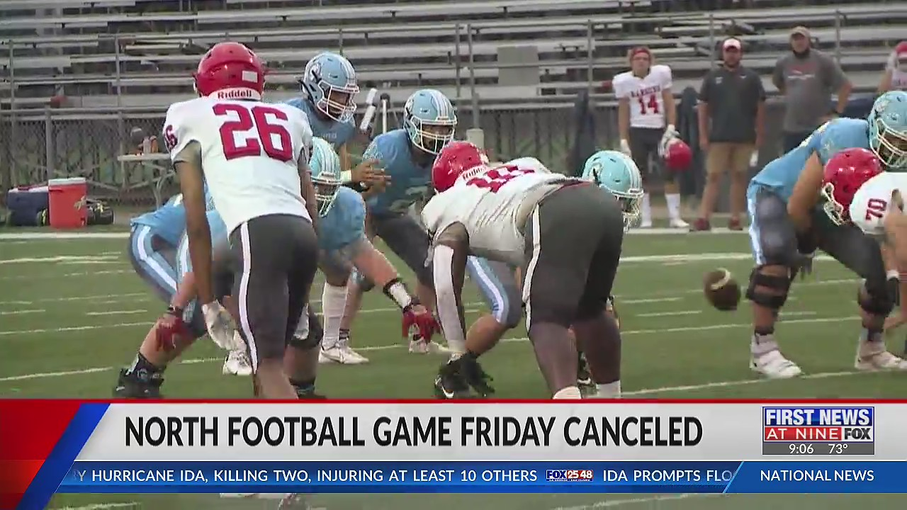 Eau Claire North football game against Superior canceled