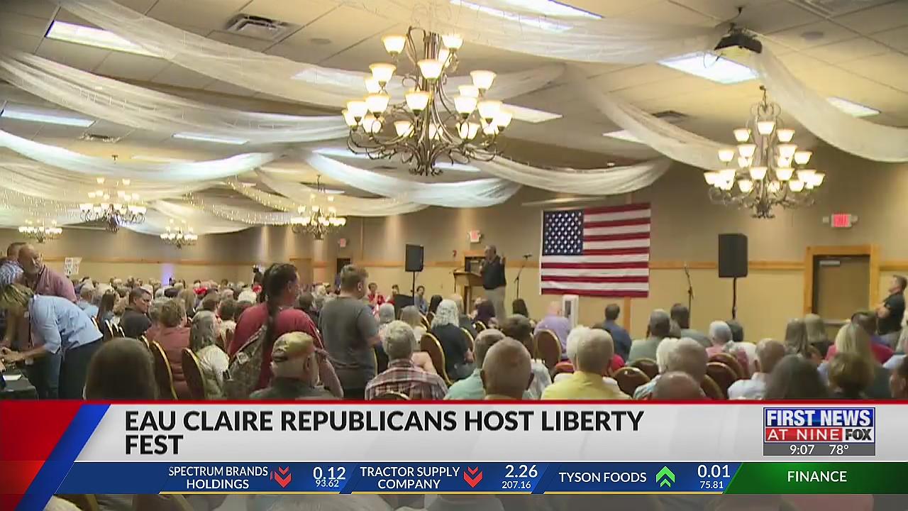 Eau Claire Republicans host Liberty Fest