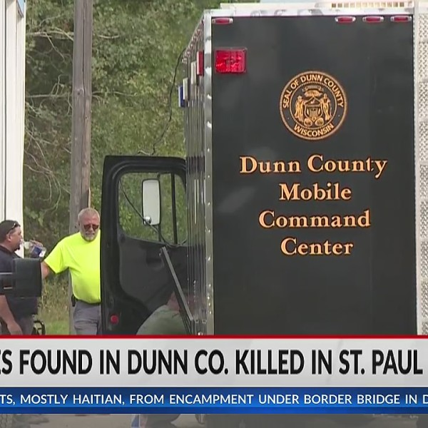 Four bodies found in Dunn County, killed in St. Paul