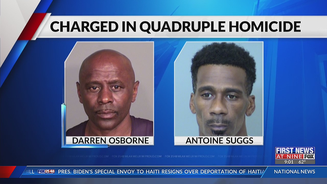 New charge filed in quadruple Dunn County homicide case