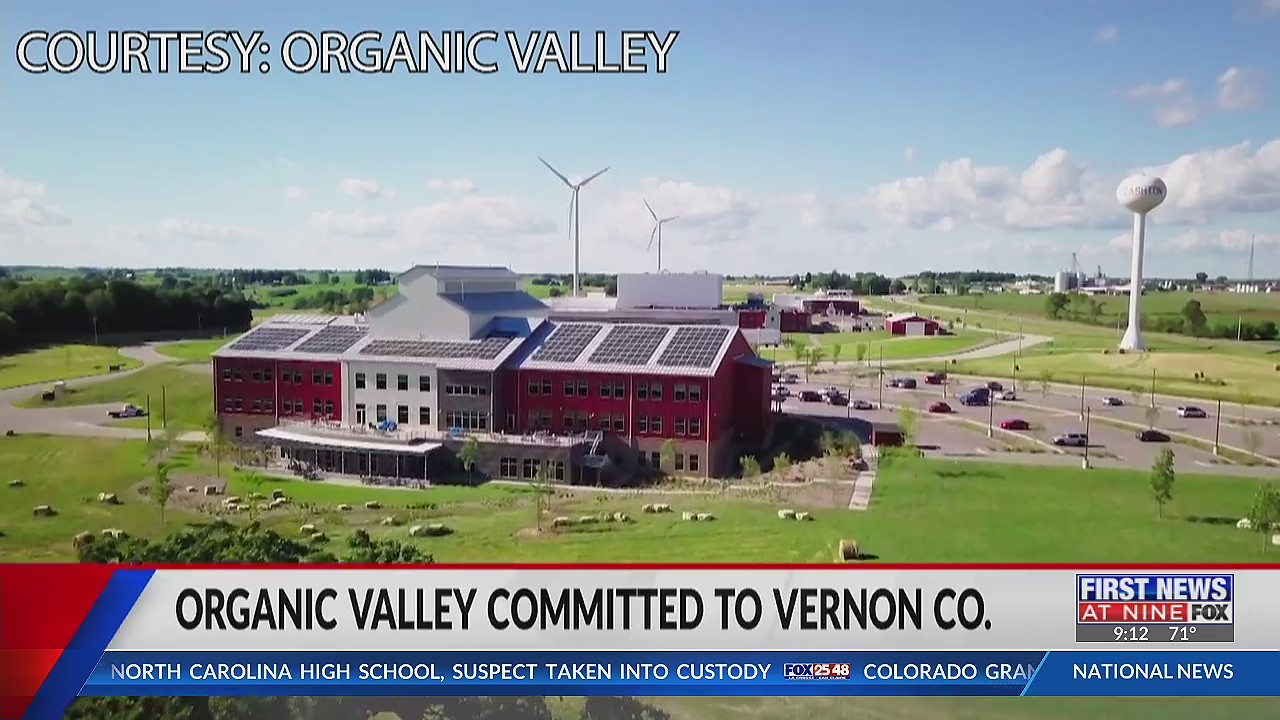Organic Valley committed to Vernon County since 1988