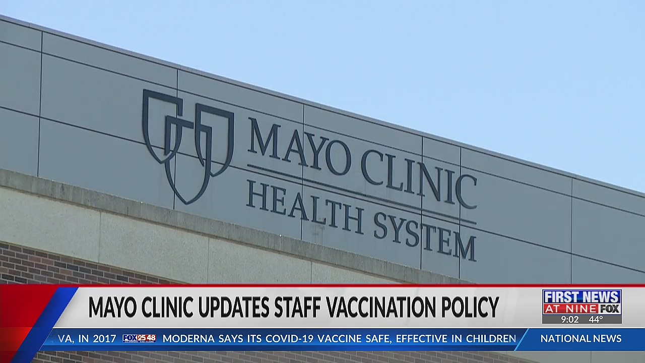 Community members and employees speaking out against updated Mayo Clinic vaccination policy